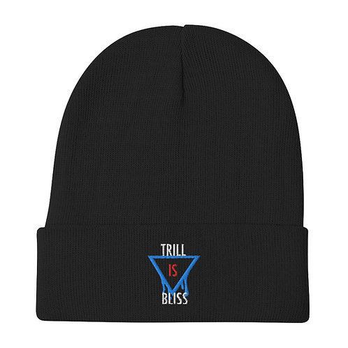 Trill is Bliss Embroidered Beanie