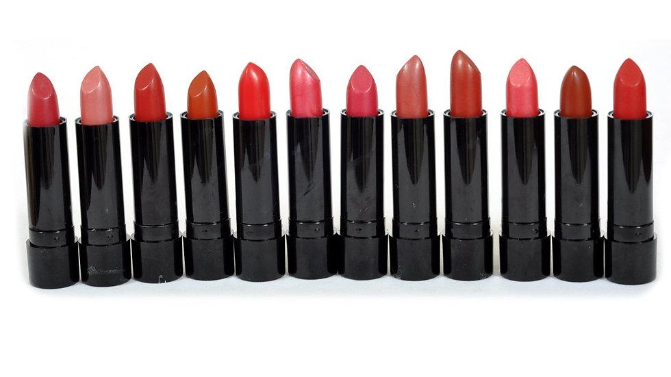 Princessa Aloe Lipsticks Set - 12 Fashionable Colors/ Long Lasting