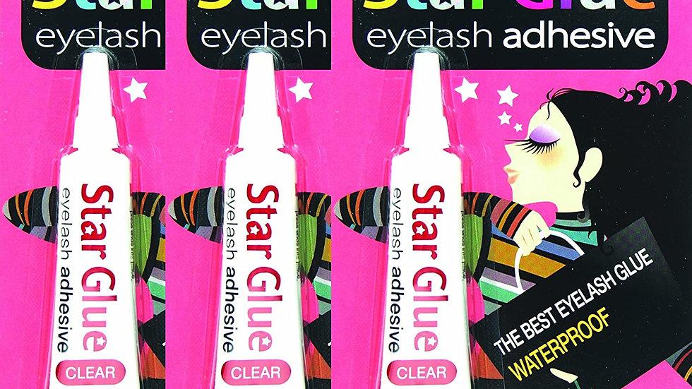 3 packs of Star Eyelash Glue for Strip Lashes
