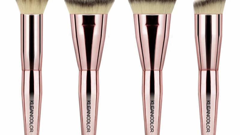 SKLEANCOLOR TOP & SMELL THE ROSES-4 PIECE CONTOUR BRUSH SET