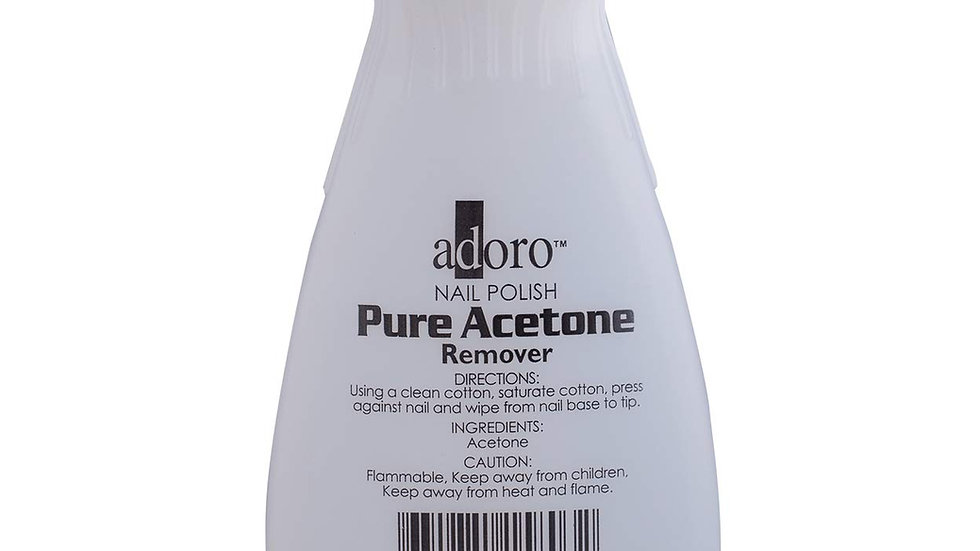 Adoro Nail Polish Pure Acetone Remover Pack of 2