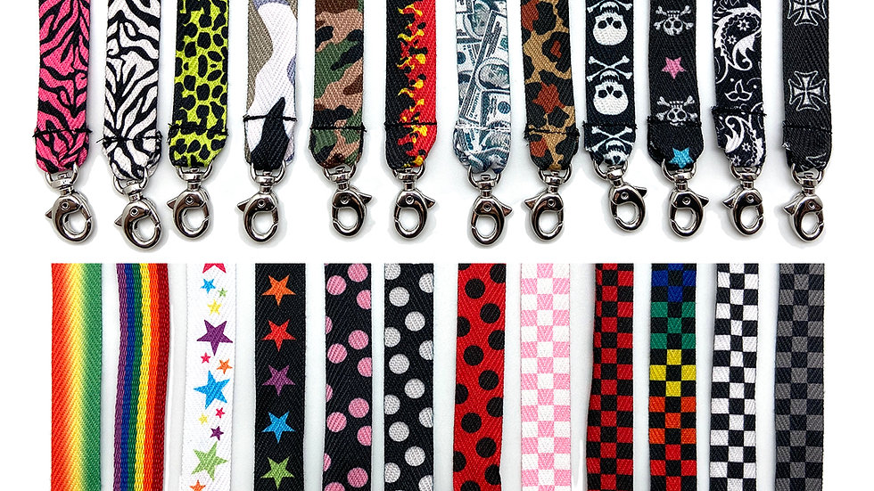 2-pc Fashion Lanyard Strap for Face Mask Checker/Ladybug/Zebra