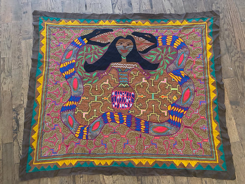 Shipibo Tapestry- wall size
