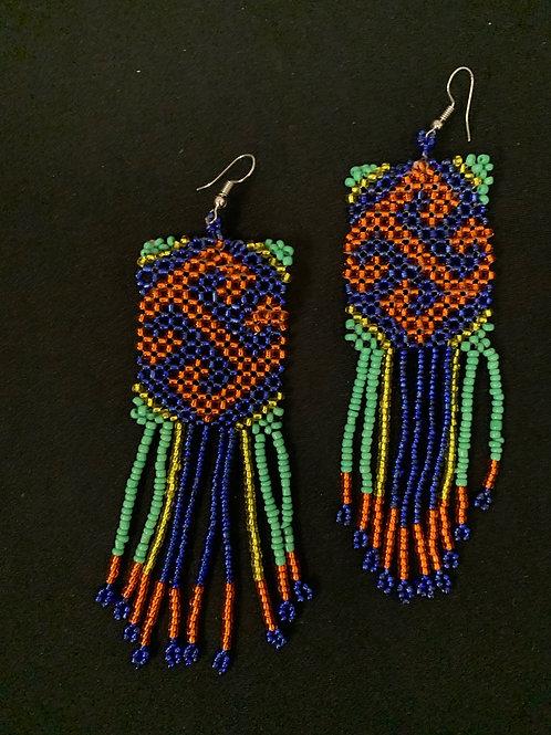 Shipibo Beaded Earrings
