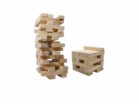 XXL Holzwackelturm