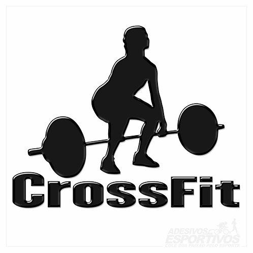 Adesivo Emblema CrossFit - Feminino