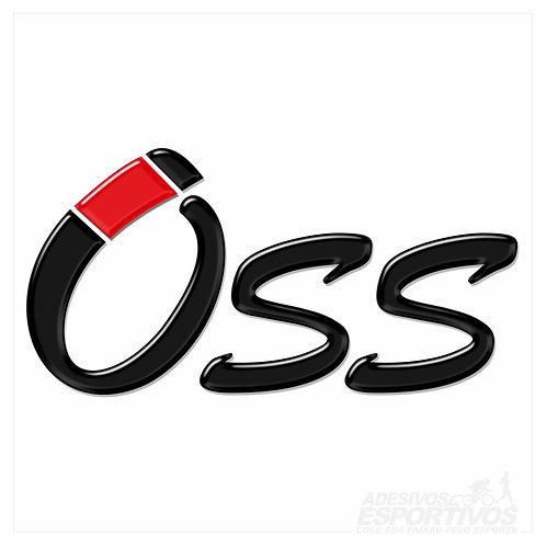 Adesivo Emblema Artes Marciais Oss - Jiu-Jitsu