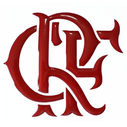 Adesivo Emblema Brasão Rubro Negro - Flamengo
