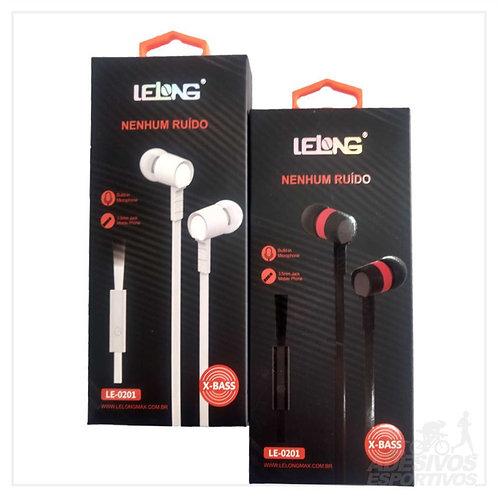 Fones de ouvido Lelong - LE-0201
