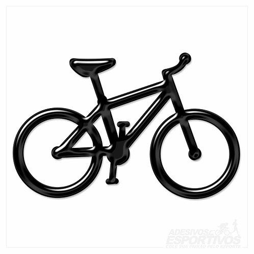 Adesivo Emblema Bike MTB Resinado 3D