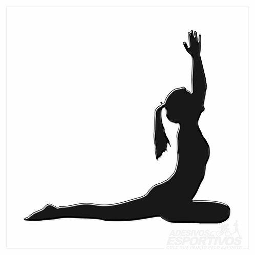Adesivo Emblema Yoga