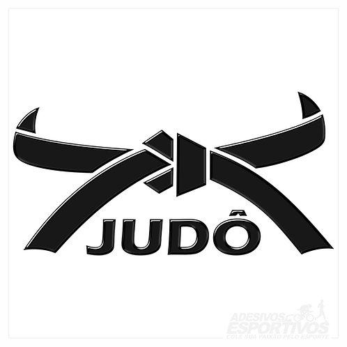 Adesivo Emblema Artes Marciais Faixa Judô