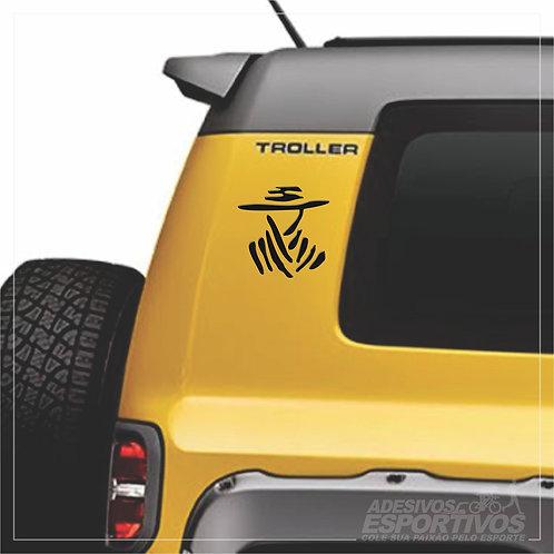 Adesivo Emblema Dakar América Do Sul