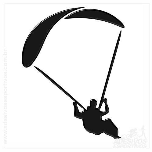Adesivo Emblema Parapente / Paraquedas / Paraglider