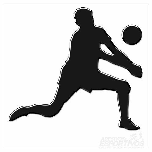 Adesivo Emblema Voleibol - Masculino
