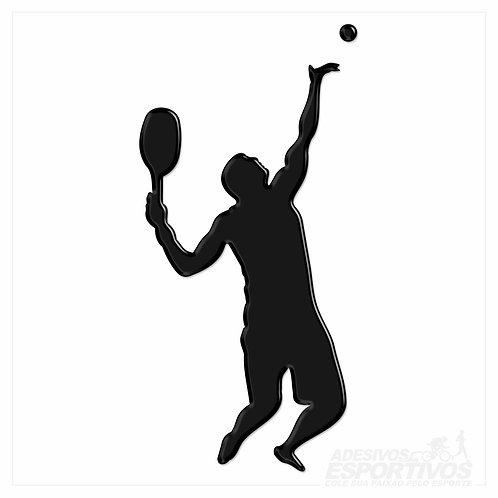 Adesivo Emblema Beach Tennis - Masculino