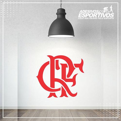 Adesivo Esportivo Decorativo de Parede Brasão Flamengo