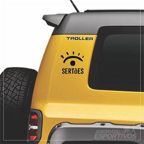 Adesivo Emblema Rally dos Sertões