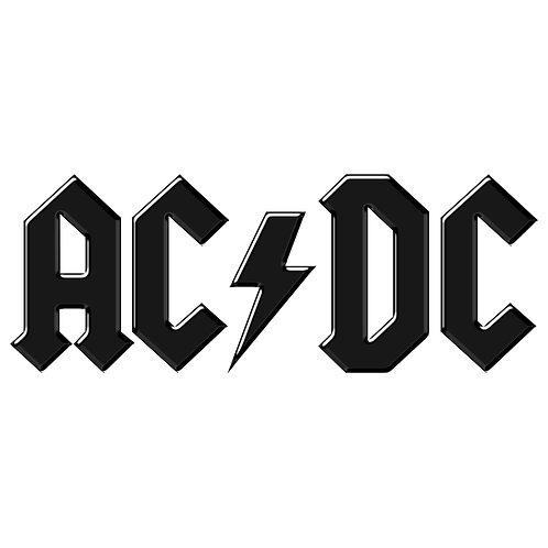 Adesivo Emblema AC/DC - Linha Heavy Metal Rock