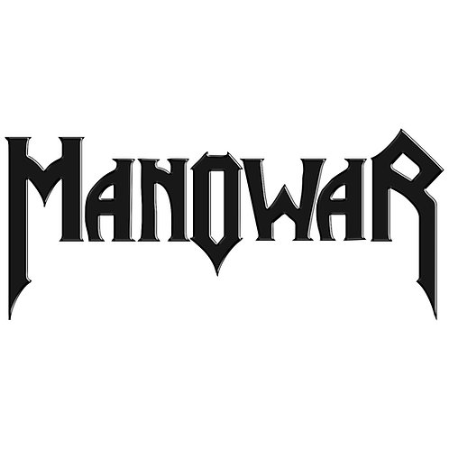 Adesivo Emblema Manowar - Linha Heavy Metal Rock