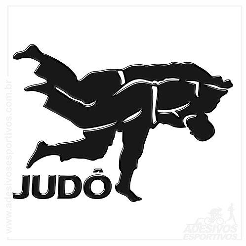 Adesivo Emblema Judô