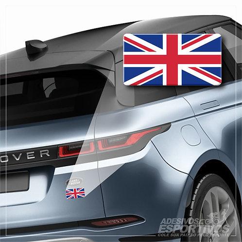 Adesivo Emblema Bandeira da Inglaterra Uk Land Rover