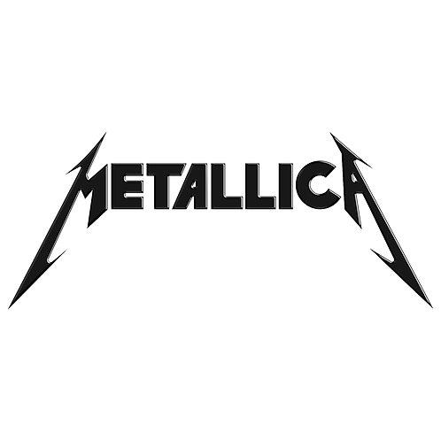 Adesivo Emblema Metallica - Linha Heavy Metal Rock