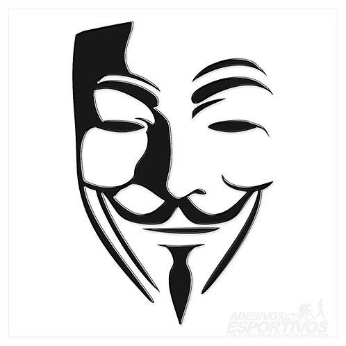 Adesivo Emblema Anonymous V de Vingança