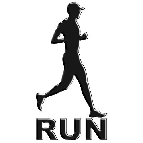 Adesivo Emblema Corredor Run
