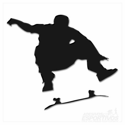 Adesivo Emblema Skate Flip