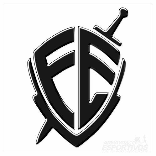 Adesivo Emblema Escudo da Fé