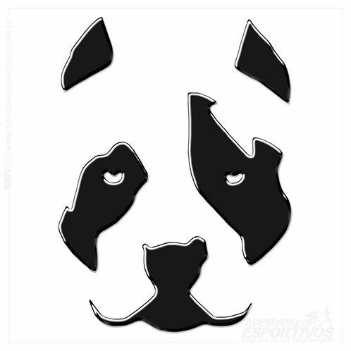 Adesivo Emblema PET Cachorro Pitbull Resinado 3d