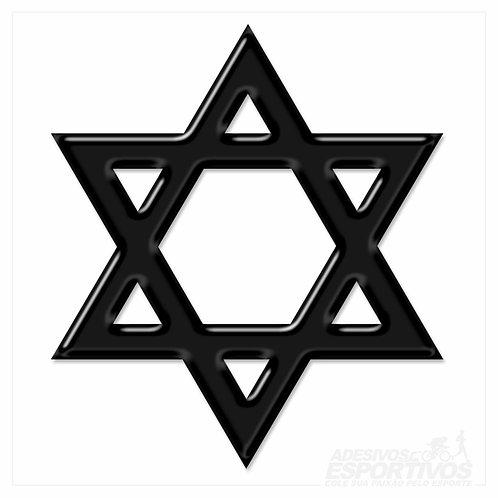cópia de Adesivo Emblema Cruz da fé