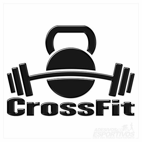 Adesivo Emblema CrossFit
