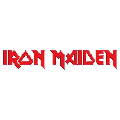 Adesivo Emblema Iron Maiden - Linha Heavy Metal Rock