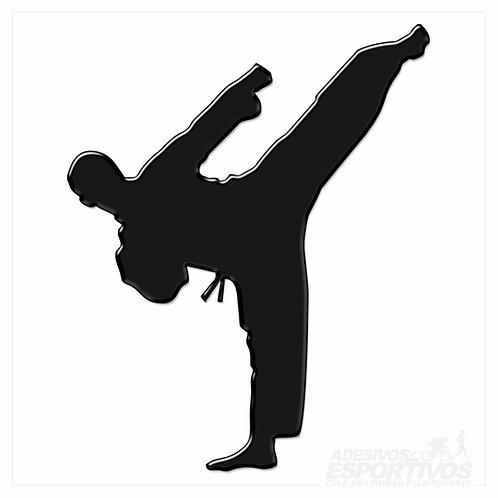 Adesivo Emblema Karatê / Taekwondo