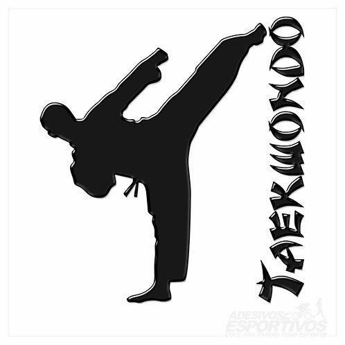 Adesivo Emblema Taekwondo