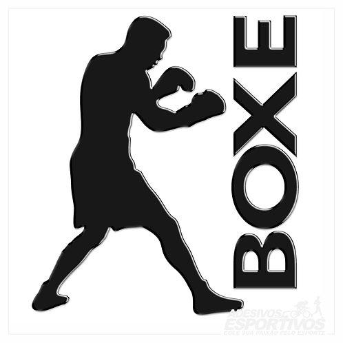 Adesivo Emblema Boxe