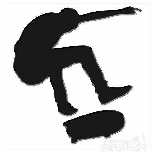 Adesivo Emblema Skate Heelflip