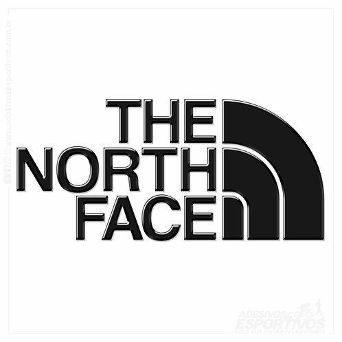 Adesivo Emblema The North Face Resinado 3D