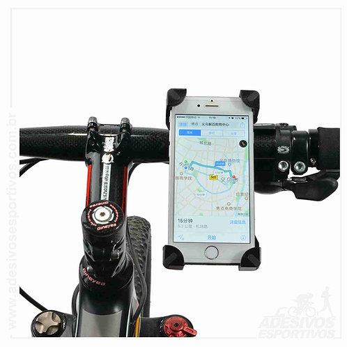 Suporte de celular e GPS universal para Bike e Moto Ótimo para UberEats.