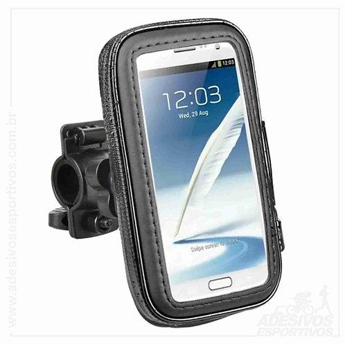 Suporte Case de celular e GPS universal para Bike e Moto. Ótimo para UberEats