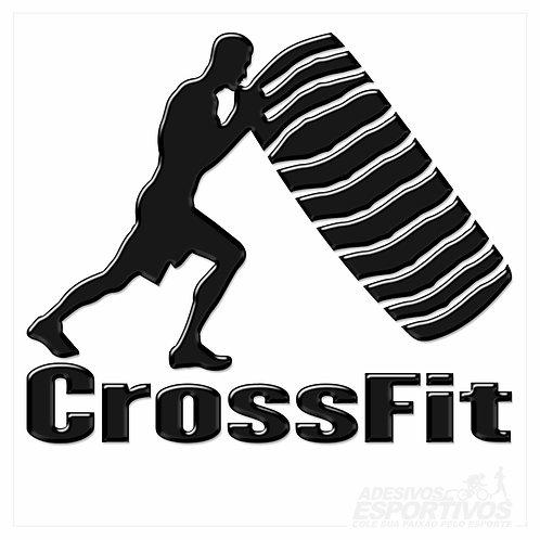 Adesivo Emblema CrossFit - Masculino