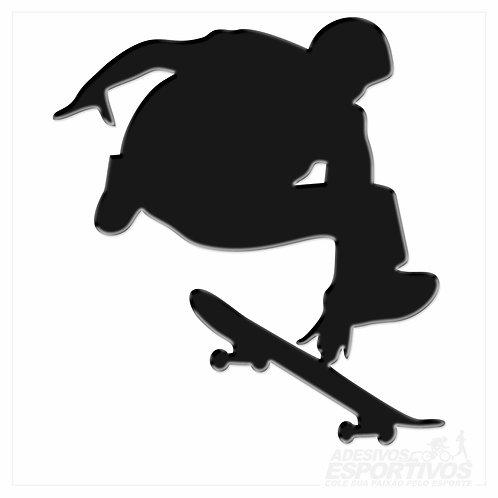 Adesivo Emblema Skate Indi