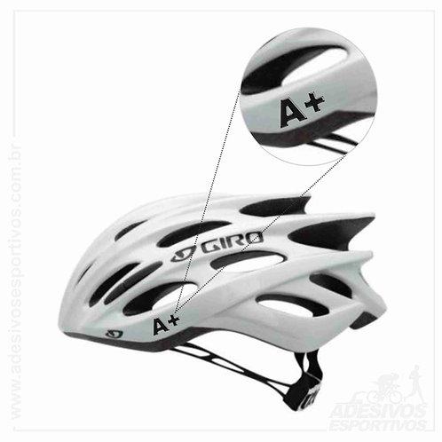 Adesivos Emblema Tipos Sanguíneos - Capacete/Bike/Moto