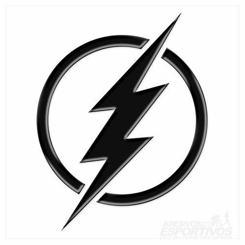 Adesivo Emblema Simbolo The Flash