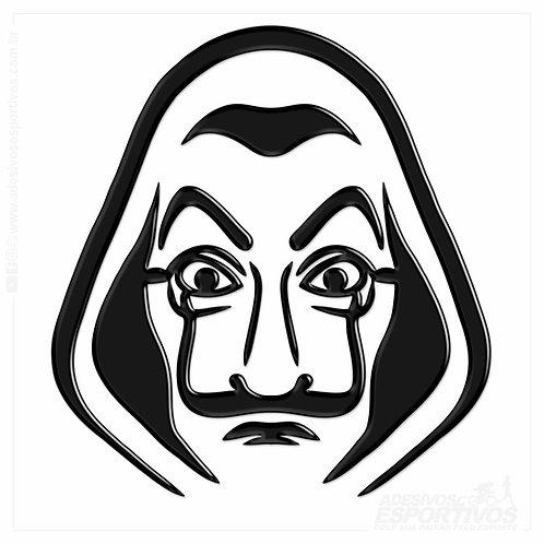 Adesivo Emblema La Casa de Papel Resinado 3d
