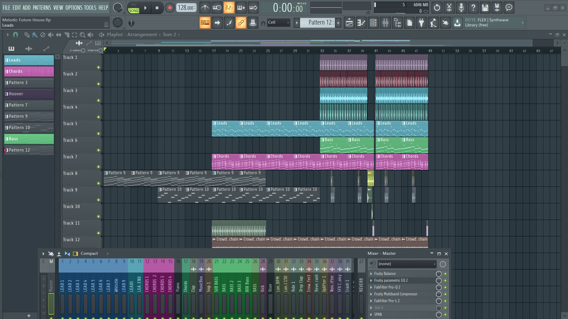 Melodic Future House FLP by EIGHT'B | FLPro