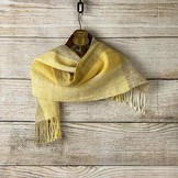 手染め手紡ぎ手織りショール(My1)