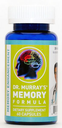 Dr. Murray's, Memory, Brain, Health, Gluten-Free, Anti-Aging, Nutraceutical, Supplement